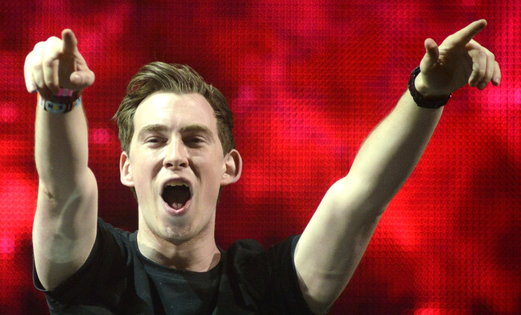 Hardwell performs during the Ultra Music Festival at Bayfront Park Amphitheater on March 30, 2014 in Miami, Florida. //// - FEATURES - TIM MOSENFELDER / GETTY IMAGES ** OUTS - ELSENT and FPG - OUTS * NM, PH, VA if sourced by CT, LA or MoD **