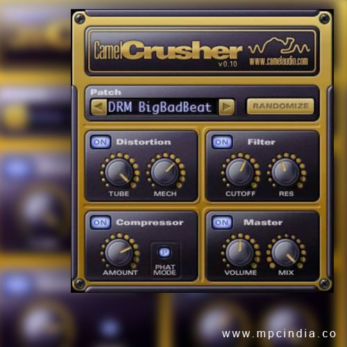 Camel Crusher VST Plugin Free Download | WIN / MAC by Camel Audio
