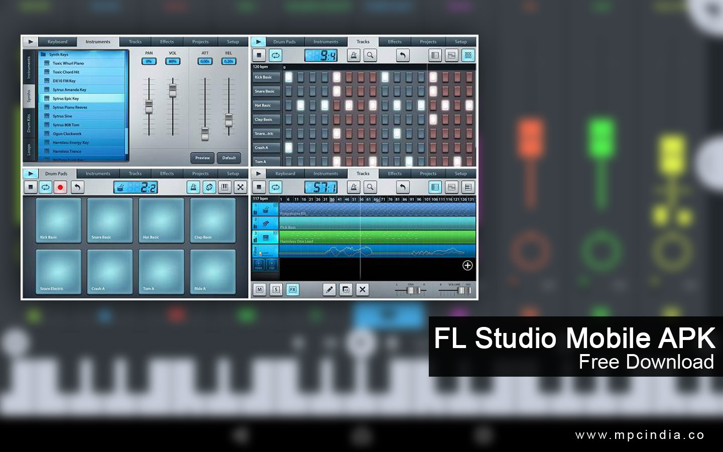FL Studio Mobile APK Free Download  Data / OBB  v3.2.0